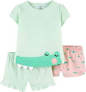 Carter's 3-Piece Girls Poly Pajama Set
