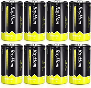 d size battery rechargeable