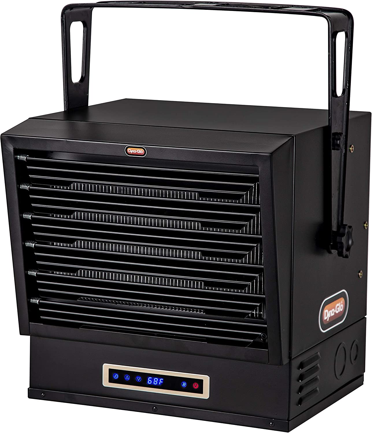 Some reservation Seattle Mall Dyna-Glo EG10000DH Dual Heat 10 Bla Garage Heater 000W Electric