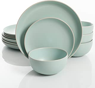 light blue dish set