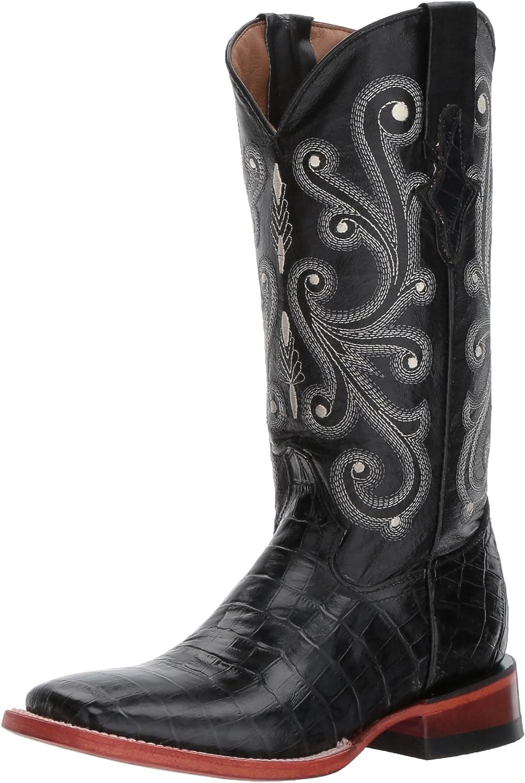 Ferrini Women's Print Alligator S-Toe Western Boot