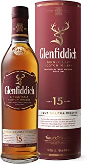 Glenfiddich 15 Years Old OUR SOLERA FIFTEEN Single Malt Scotch Whisky 1 x 0.7 l