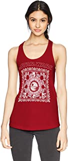 Star Wars Women's Desert Dream Graphic Junior's Racerback Tank Tops