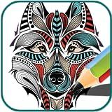 Livro de colorir (Wolf)
