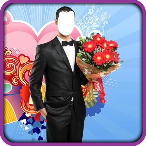 Romantische Mann-Foto-Editor