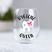 Dental Hygiene Gifts for Women Assistant Funny Stemless Wine Glass graduate idea 0097