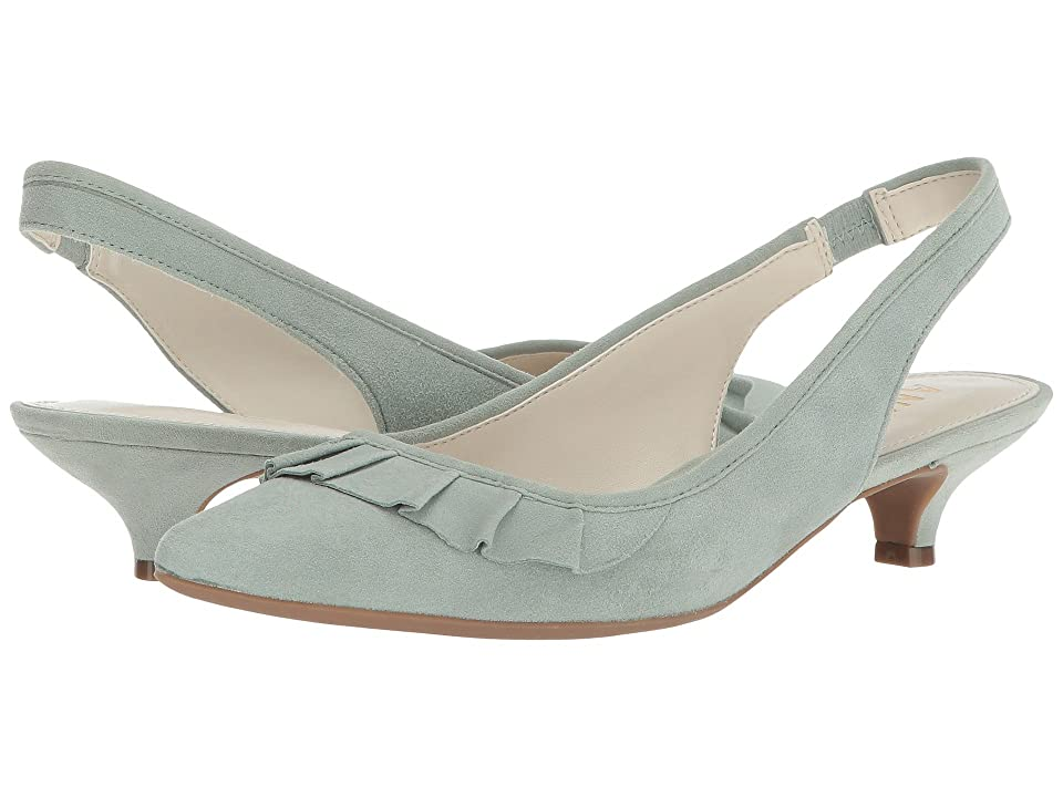 Anne Klein Elanore (Light Green Suede) Women