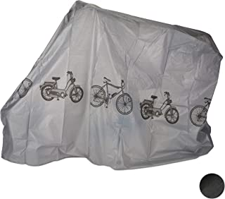 Relaxdays – Garaje para Bicicleta de Polietileno, Funda Resistente al desgarro, protección Solar, Cubierta Robusta