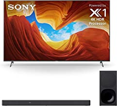 """Sony XBR-65X900H 65"""" 4K Ultra High Definition HDR LED Smart TV with a Sony HT-G700 3.1 Channel Bluetooth Soundbar and Wire..."""