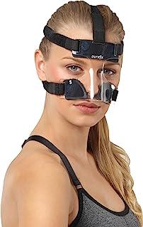 محصولات آرتوپدیک AURAFIX محافظ بینی برای بینی شکسته - ماسک محافظ بینی محافظ صورت بسکتبال صورت - محافظت در برابر آسیب های ناشی از ضربه ، ماسک صورت بسکتبال ، ماسک ورزشی