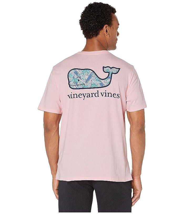 Vineyard Vines Boys White Stars /& Whale Fill Graphic Short Sleeve Pocket T-Shirt