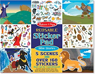 Melissa & Doug 9124 Bible Stories Reusable Sticker Pad