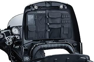 Kuryakyn 5298 Motorcycle Accessory: Trunk Lid Organizer Storage Bag for 2014-19 Indian Motorcycles, Black