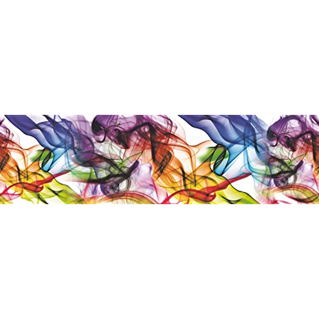 AG Design WB 8201 Borde de Papel Pintado, Multicolor, 5 x 0,14 m