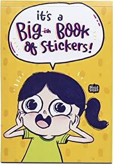 Alicia Souza Big Book of Stickers   12 PAGES of stickers   Approx 420 stickers total   For Laptops, Notebooks
