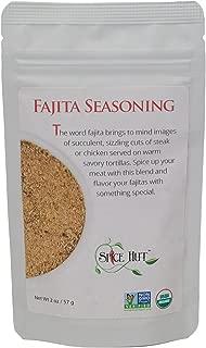 The Spice Hut Organic Fajita Seasoning, Latin American/Mexican cooking, 2 ounce