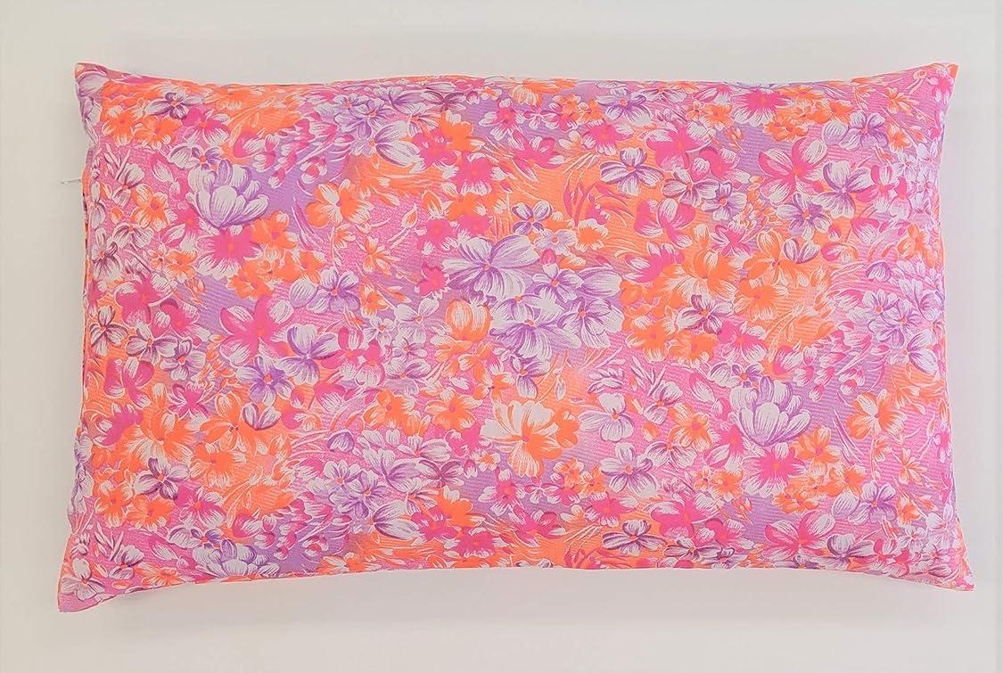 現実にはホバート外向きJOYDREAM パイプ枕 30 50 cm 日本製 高さ調整可能 フラワー ピンク