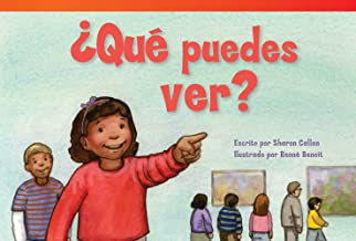 Teacher Created Materials - Literary Text: ¿Qué puedes ver? (What Can You See?) - Grade 1 - Guided Reading Level G