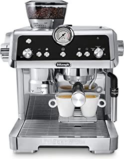 De'Longhi EC9335M La Specialista Espresso Machine with Sensor Grinder, Dual Heating System, Advanced Latte System & Hot Water Spout for Americano Coffee or Tea, Stainless Steel
