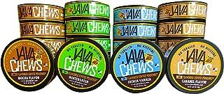 Java Chews, Premium Flavored Coffee Pouches, No Tobacco, No Nicotine Smokeless Alternative, Caramel, French Vanilla, Mocha...