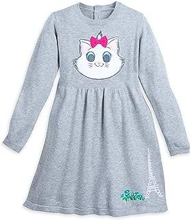 Marie Sweater Dress - The Aristocats Furrytale Friends Gray