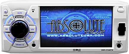 Absolute USA DMR-475ABTW 4.8-Inch DVD/MP3/CD Multimedia Player with