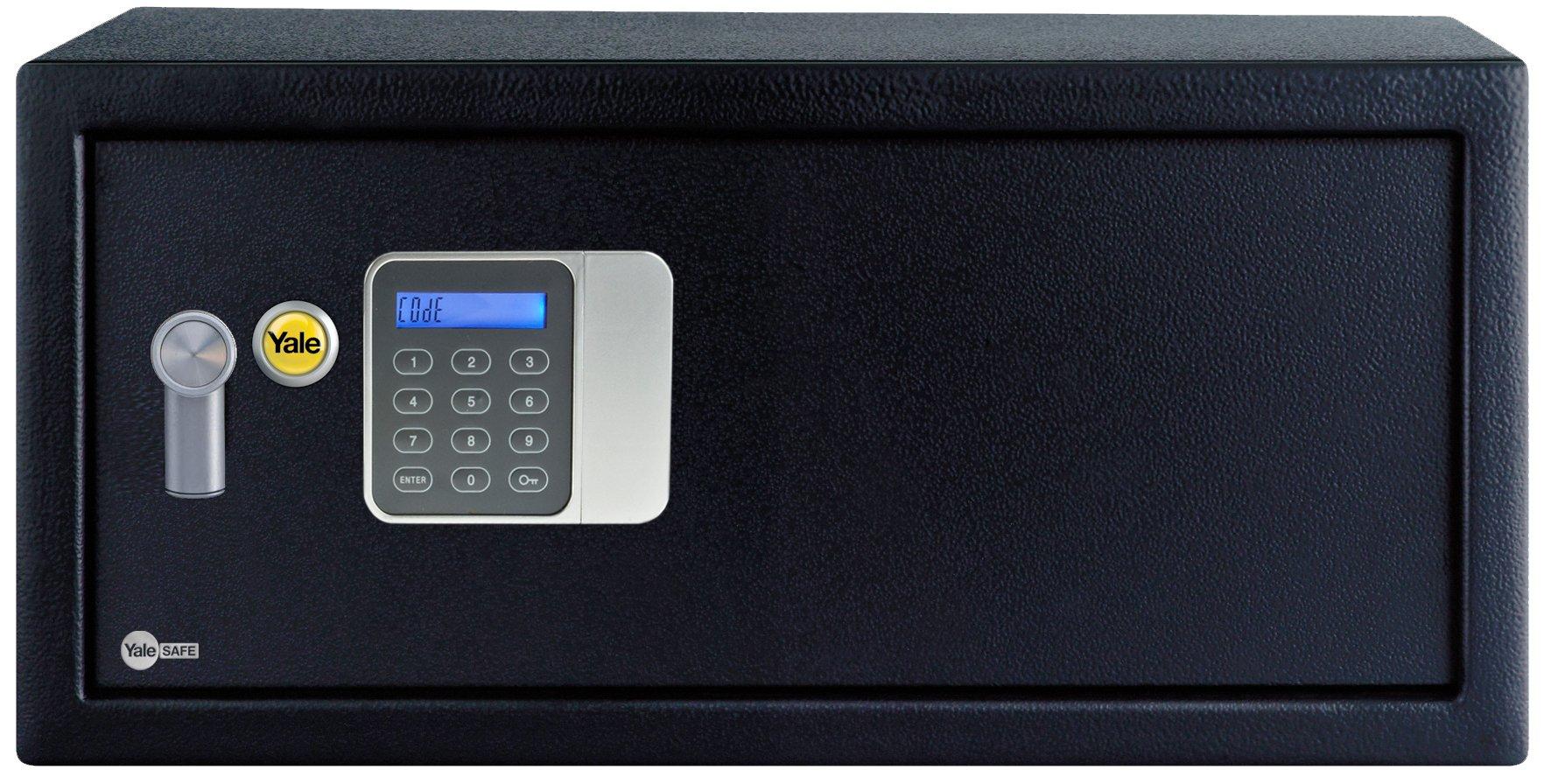 Yale YLG/200/DB1 Caja Fuerte Básica Hotel para Portátil, Laptop 200 x 430 x 350 mm: Amazon.es: Bricolaje y herramientas