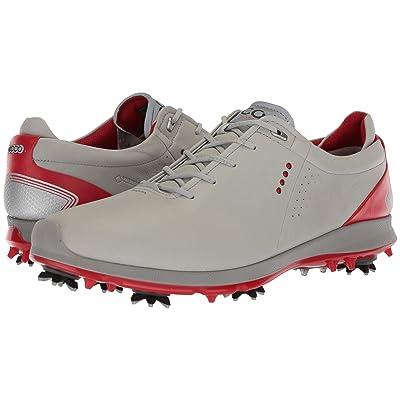 ECCO Golf Biom G 2 Free GTX (Concrete/Scarlet) Men