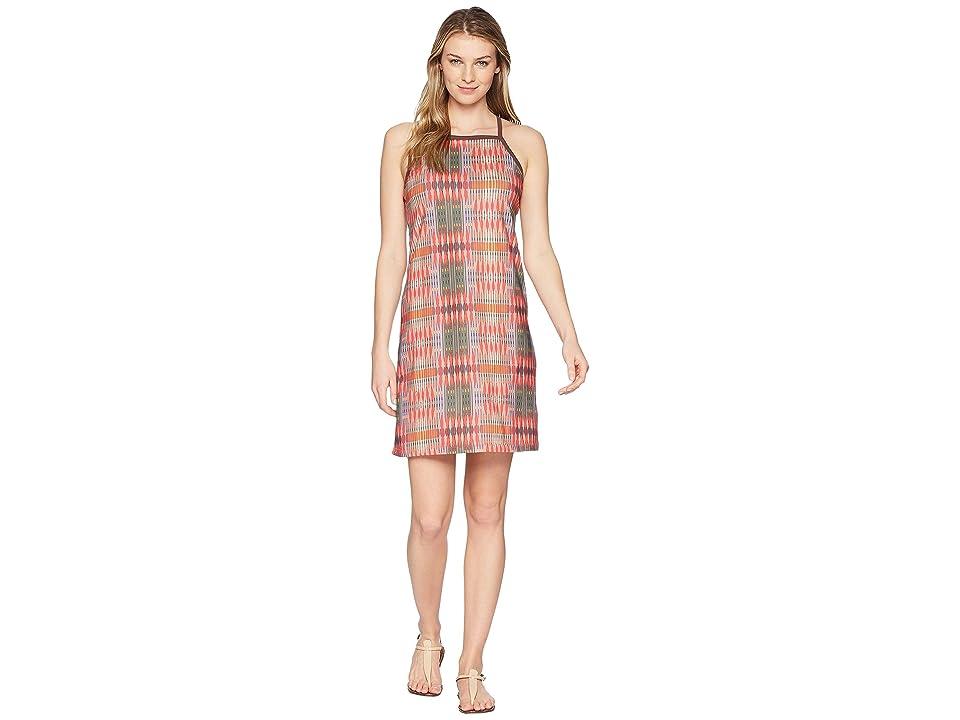 Prana Ardor Dress (Carmine Desert Geo) Women