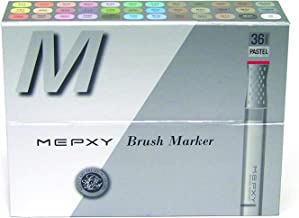 Mepxy Brush Marker Set of 36color - Pastel