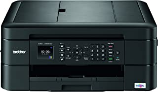 Brother MFC-J480dw Wireless Inkjet Color All-in-One Printer with Auto Document Feeder Dash Replenishment Enabled 1.8