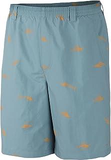 Columbia Sportswear Men's Backcast II Printed Shorts, Storm Bare Bones, Medium/6