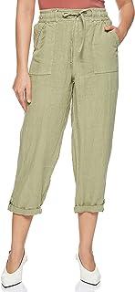 Affordables Women's Capri Pants, Olive
