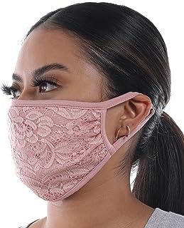 Bandana Adjustable Washable Reusable Face Mask with Filter Pocket (ONLY Bandana Face-mask), Made in USA