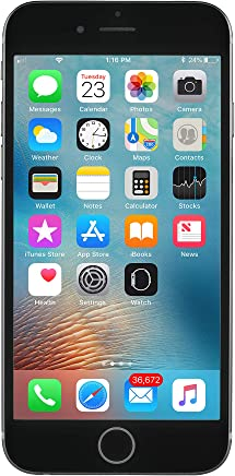 Apple iPhone 6S, GSM Unlocked, 64GB - Space Grey (Renewed)