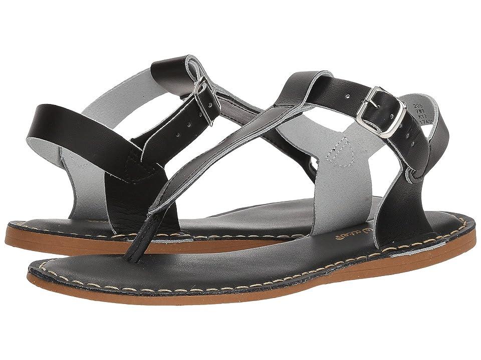 Salt Water Sandal by Hoy Shoes Sun-San T-Thongs (Big Kid/Adult) (Black) Girls Shoes
