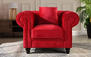 Best red chesterfield chair Reviews