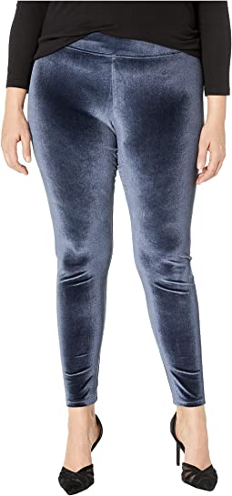 Plus Size Velvet Leggings
