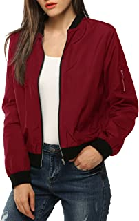 Best red plaid bomber jacket womens Reviews