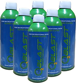 99.7% Pure Oxygen Supplement 9 Liter - Recovery for Exercise, Energy, Respiratory Support for Health and Altitude Sickness...