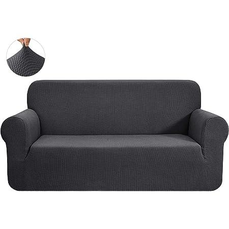 Sofahusse HOTNIU Elastischer Sofa-/überwurf 3 Sitzer, Gemustert #BX Sofa/überzug Antirutsch Stretch Sofabezug Hussen f/ür Sofa Couch Sessel in Verschiedene Gr/ö/ße und Farbe Sofa Abdeckung