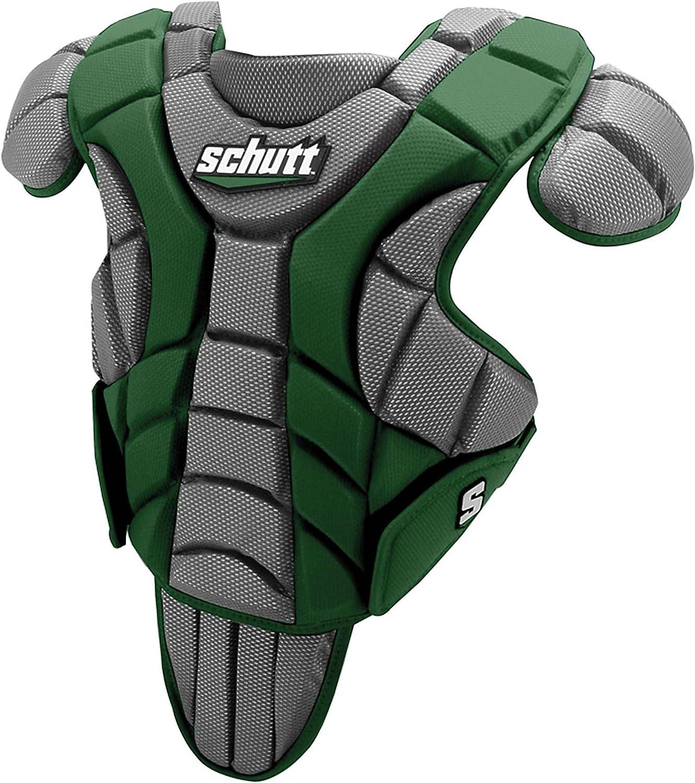 Schutt Sports Scorpion Chest Predector for Baseball, Dark Green, 15-Inch