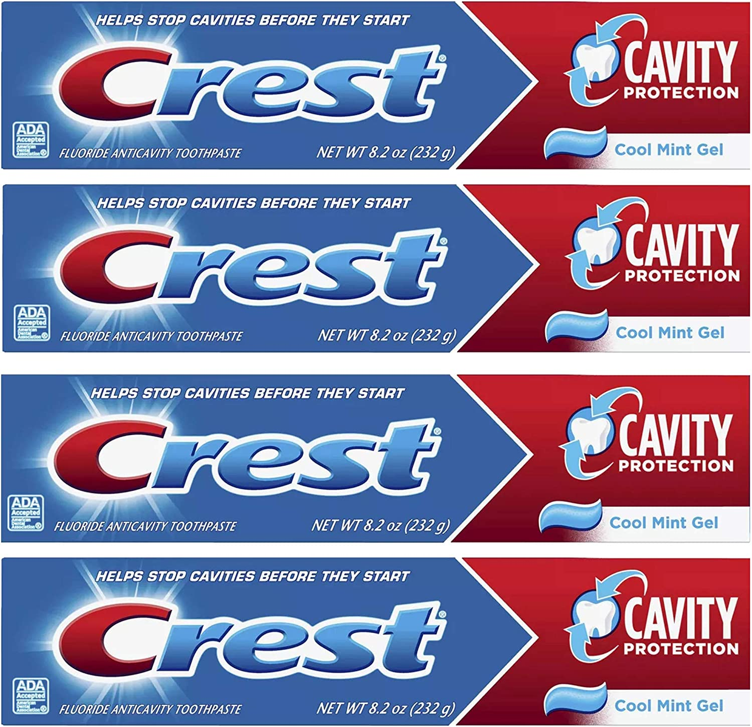 Crest Cavity Protection Toothpaste Gel Cool Pack Mesa Mall oz 8.20 o Mint Max 40% OFF