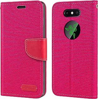 Razer telefon 2 fodral, Oxford läder plånboksfodral med mjuk TPU baksida skydd magnet flip fodral för Razer Phone 2