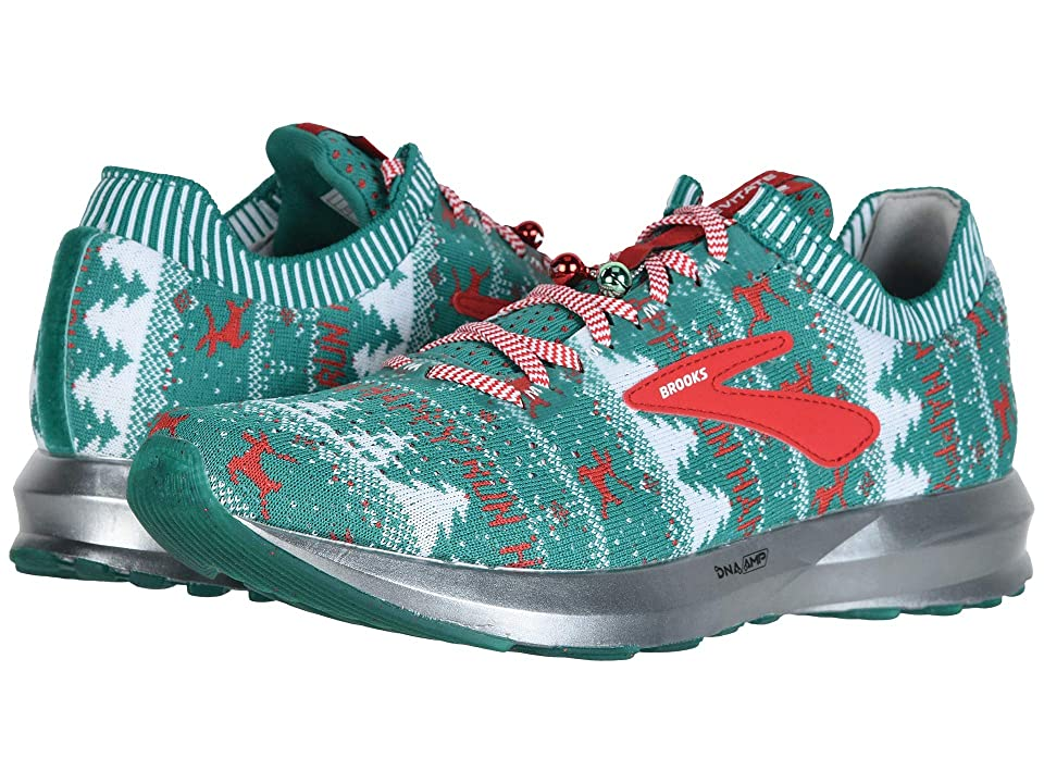 Brooks Levitate 2 (Green/White/Red (Holiday Edition)) Men