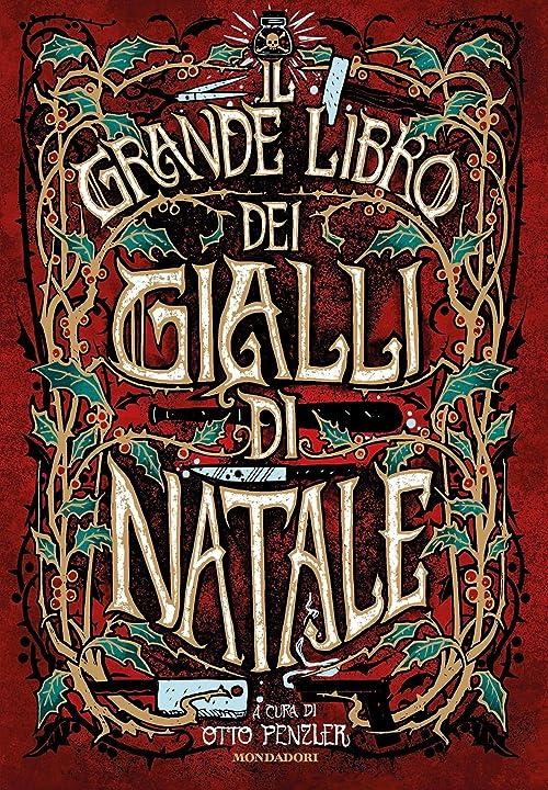 Il grande libro dei gialli di natale (italiano) copertina rigida 978-8804727972