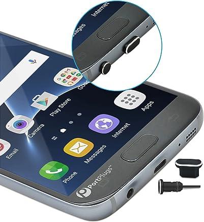 PortPlugs - Aluminum Micro USB Dust Plug Set – Compatible Micro-USB Cell Phones,