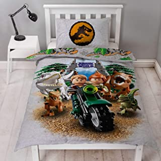 LEGO Jurassic World - Funda de edredón