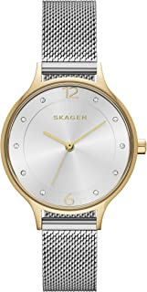 Skagen Women's Anita Stainless Steel Mesh Dress Quartz Watch