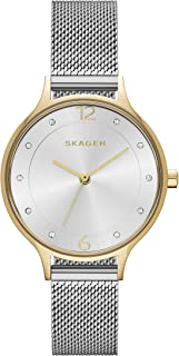Skagen Women's Quartz Stainless Steel and Silver-Tone Casual Watch, Color:Silver (Model: SKW2340)
